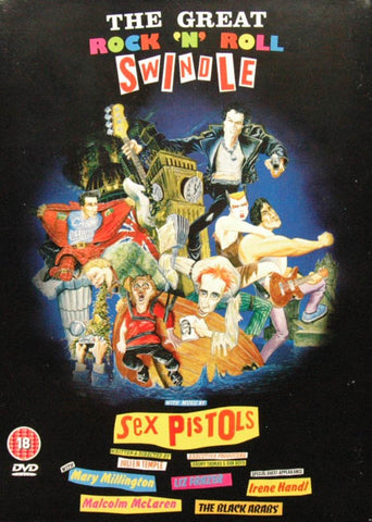 SEX PISTOLS-THE GREAT ROCK 'N' ROLL SWINDLE DVD VG+