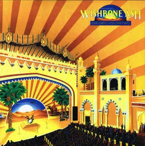 WISHBONE ASH-LIVE DATES II YELLOW/ BLUE VINYL 2LP *NEW*
