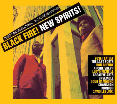 BLACK FIRE! NEW SPIRITS!-VARIOUS ARTISTS 3LP *NEW*