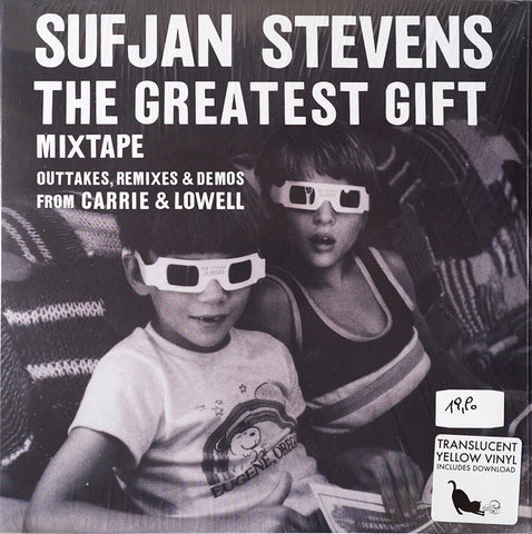 STEVENS SUFJAN-THE GREATEST GIFT YELLOW  VINYL *NEW*