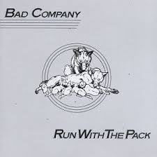 BAD COMPANY-RUN WITH THE PACK LP VG+ COVER VG