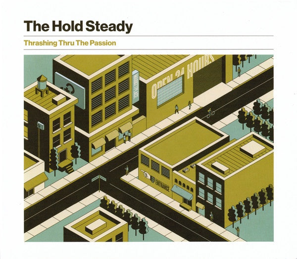 HOLD STEADY THE-THRASHING THRU THE PASSION CD *NEW*