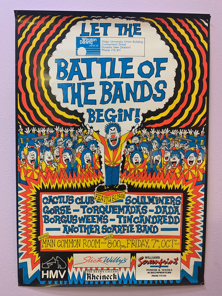 BATTLE OF THE BANDS ORIGINAL PROMO POSTER