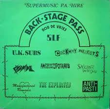 BACK-STAGE PASS-VARIOUS ARTISTS LP VG COVER VG