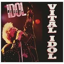 IDOL BILLY-VITAL IDOL LP EX COVER VG+