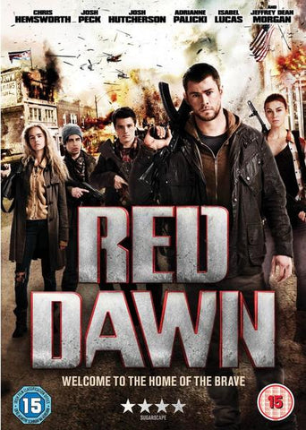 RED DAWN DVD VG+