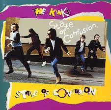 KINKS THE-STATE OF CONFUSION LP VG+ COVER VG+