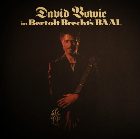 BOWIE DAVID-IN BERTOLT BRECHT'S BAAL 10'' EP *NEW*