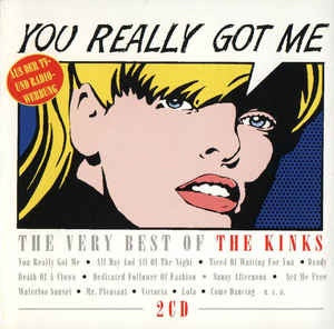 KINKS THE-YOU REALLY GOT ME: THE VERY BEST OF 2CD VG