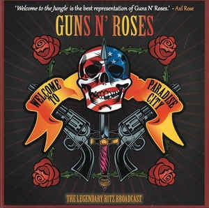 "GUNS N' ROSES-WELCOME TO A NIGHT AT THE RITZ 2x10"" *NEW*"
