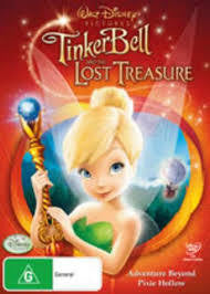TINKERBELL AND THE LOST TREASURE REGION 4 DVD G