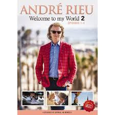 RIEU ANDRE-WELCOME TO MY WORLD 2 EPISODES 1-4 DVD *NEW*