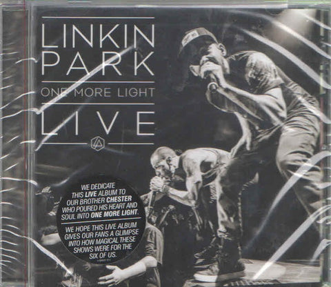 LINKIN PARK-ONE MORE LIGHT LIVE CD *NEW*