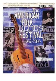 AMERICAN FOLK BLUES FESTIVAL 1962-66 DVD VG
