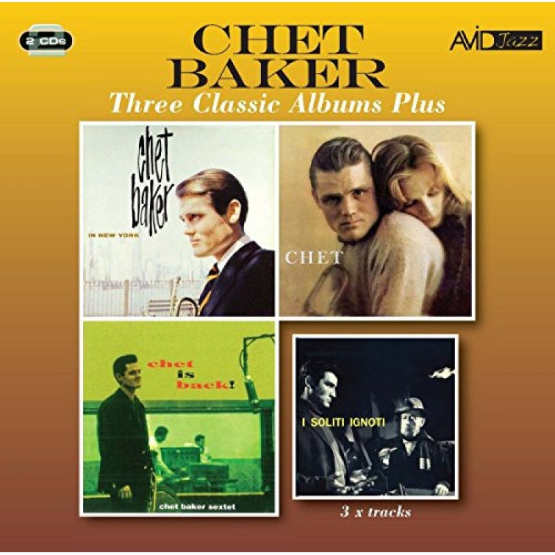 BAKER CHET-THREE CLASSIC ALBUMS PLUS 2CD *NEW*