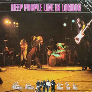 DEEP PURPLE-LIVE IN LONDON LP NM COVER EX
