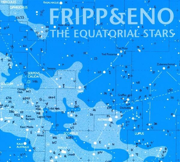 FRIPP & ENO-THE EQUATORIAL STARS CD *NEW*