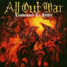 ALL OUT WAR-CONDEMNED TO SUFFER CD G