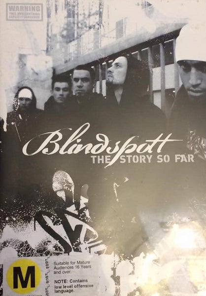 BLINDSPOTT-THE STORY SO FAR DVD VG