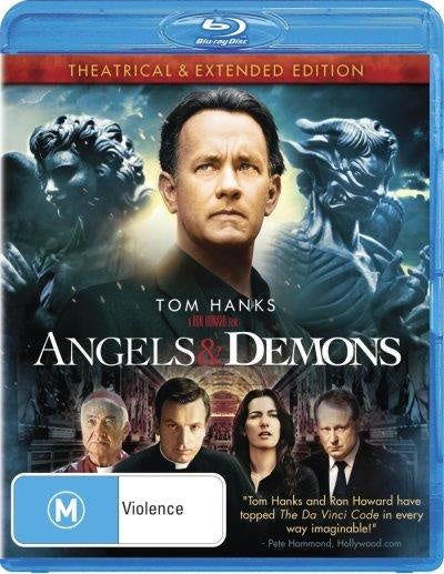 ANGELS & DEMONS BLURAY VG