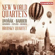 BRODSKY QUARTET-NEW WORLD QUARTETS CD *NEW*