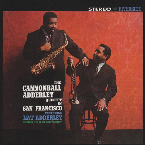 ADDERLEY CANNONBALL QUARTET-IN SAN FRANCISCO LP  *NEW*
