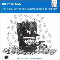 BRAGG BILLY-TALKING WITH THE TAXMAN ABOUT POETRY LP EX COVER VG+