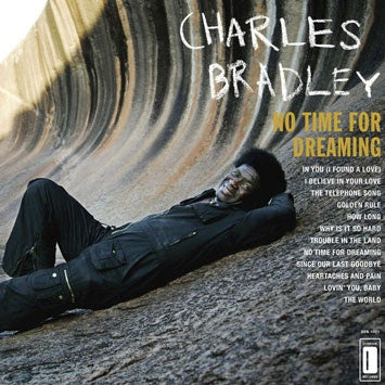 BRADLEY CHARLES-NO TIME FOR DREAMING CD VG