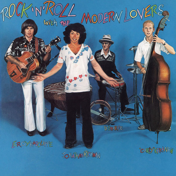 MODERN LOVERS-ROCK'N'ROLL WITH MODERN LOVERS  TURQUOISE VINYL LP *NEW*