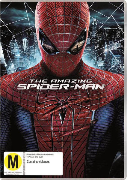 AMAZING SPIDERMAN DVD VG