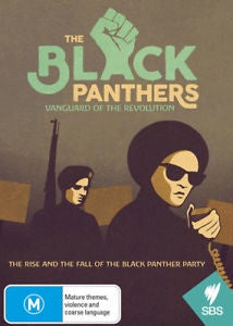 BLACK PANTHERS VANGUARD OF THE REVOLUTION DVD VG