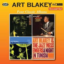 BLAKEY ART-FOUR CLASSIC ALBUMS 2CD *NEW*
