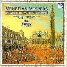 VENETIAN VESPERS-VARIOUS ARTISTS 2CD VG
