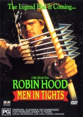 ROBIN HOOD MEN IN TIGHTS DVD NM