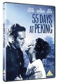 55 DAYS AT PEKING FILM REGION 2 DVD VG