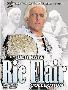 WWE ULTIMATE RIC FLAIR COLLECTION 3DVD REGION UNKNOWN VG