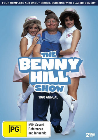 BENNY HILL SHOW - 1970 ANNUAL 2DVD VG