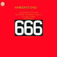 APHRODITE'S CHILD-666 2LP *NEW*