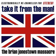BRIAN JONESTOWN MASSACRE-TAKE IT FROM THE MAN! RED/ BLUE VINYL 2LP NM COVER NM