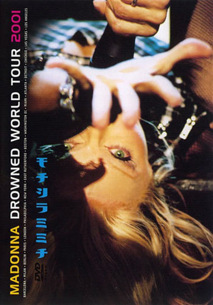 MADONNA-DROWNED WORLD TOUR 2001 DVD VG