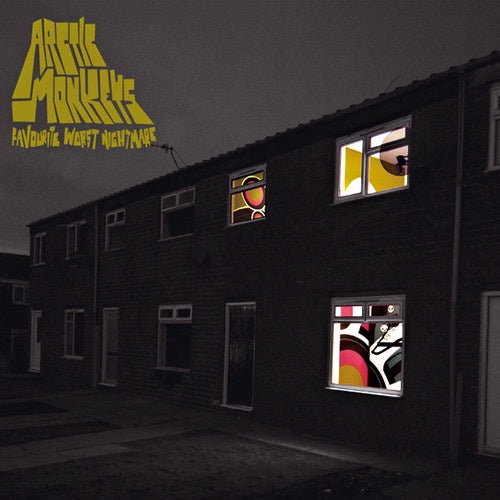 ARCTIC MONKEYS-FAVOURITE WORST NIGHTMARE CD VG