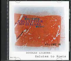 LILBURN DOUGLAS-SALUTES TO POETS CD NM