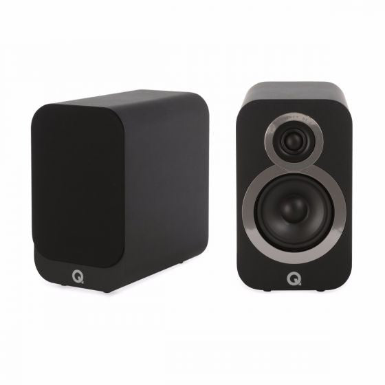 Q-ACOUSTICS 3010i SPEAKERS BLACK *NEW*
