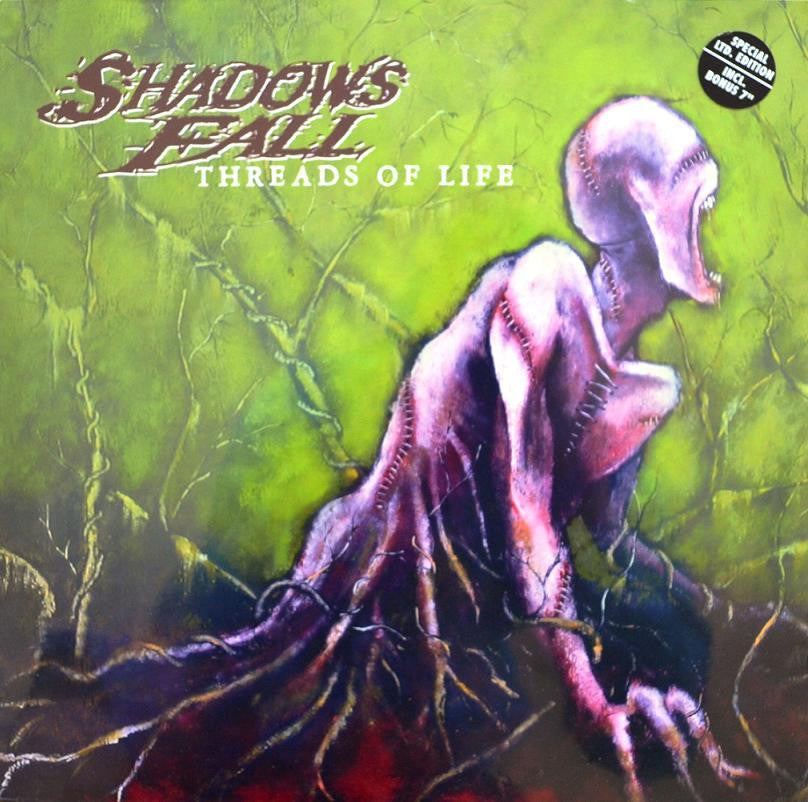 SHADOWS FALL-THREADS OF LIFE LP + BONUS 7 INCH *NEW*