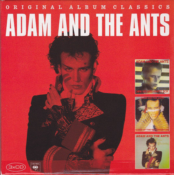 ADAM AND THE ANTS-ORIGINAL ALBUM CLASSICS 3CD G
