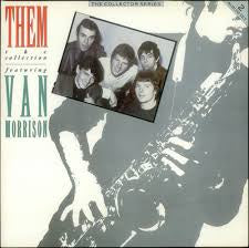 THEM FEATURING VAN MORRISON-THE COLLECTION 2LP VG+ COVER VG+