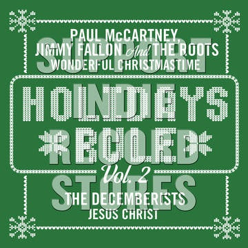 "MCCARTNEY PAUL / THE DECEMBERISTS-HOLIDAYS RULE 7"" GREEN VINYL *NEW*"