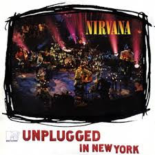 NIRVANA-MTV UNPLUGGED IN NEW YORK PALLAS PRESSING LP NM COVER EX