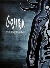 GOJIRA-THE FLESH ALIVE CD +2DVD VG
