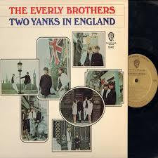 EVERLY BROTHERS THE-TWO YANKS IN ENGLAND LP VG COVER VG+